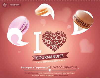 I love Gourmandise