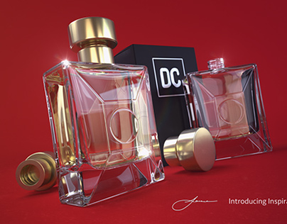 3D product renders