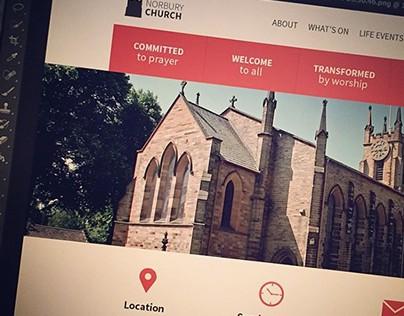 Norbury Church Website (2014)