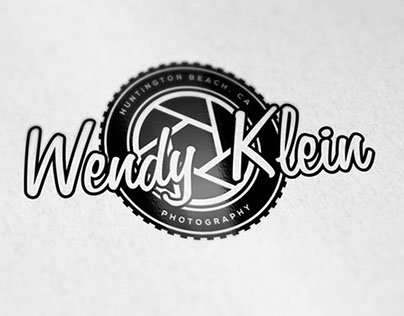 """Wendy Klein Photography"" Logos"