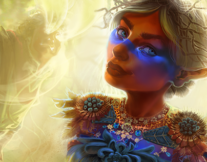 Magic: the Gathering Inspired, Soul-Stealing Fairy