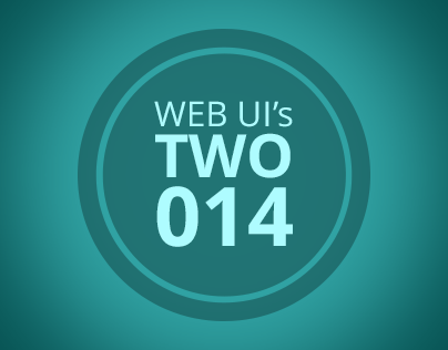 Web UI's TWO-014