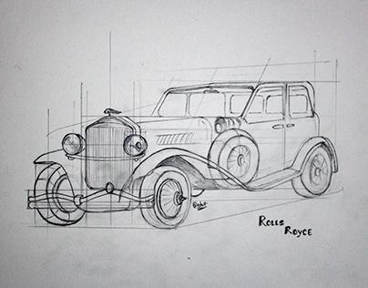 Automobile & Transport Sketching