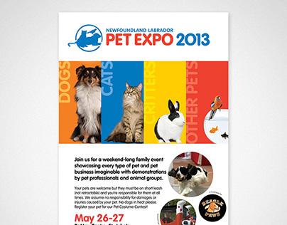 Newfoundland Labrador Pet Expo 2013 Poster