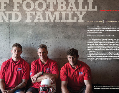 """Of Football and Family"""