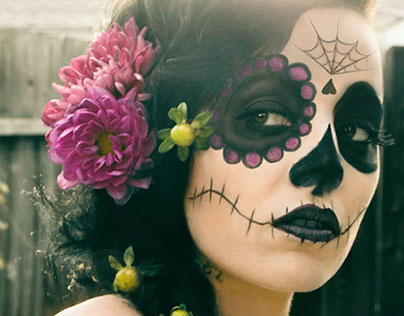 Day of the Dead Portrait series