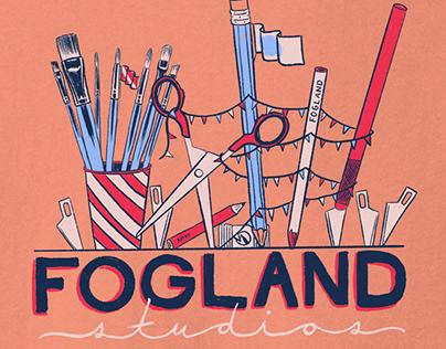 New Fogland tee shirt