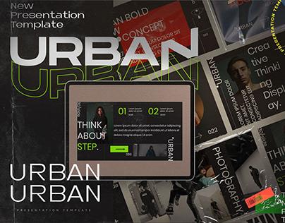 URBAN - Creative Google Slide