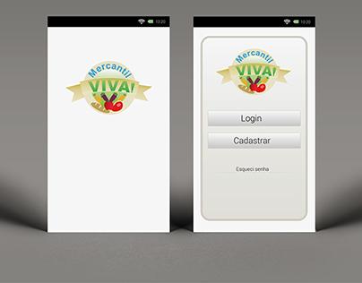 aplicativo Mercantil Viva
