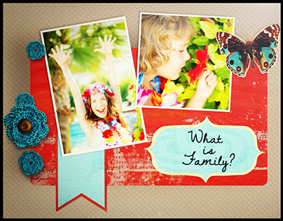 Scrapbooking Story Pack