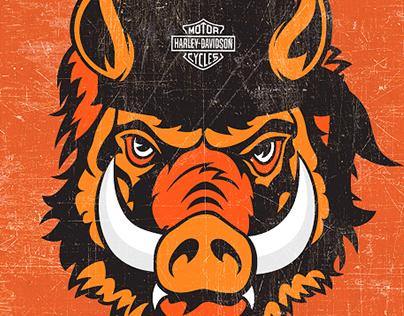 Эмблема «Harley-Davidson» Минск Беларусь