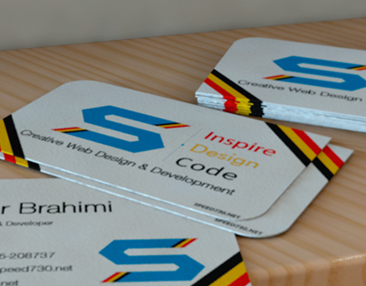 Speed730 Business Card