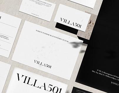 VILLA501 Brand Identity Design