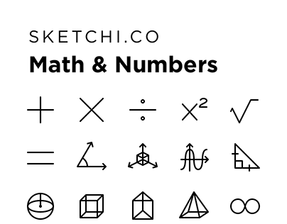 Math & Number Icons