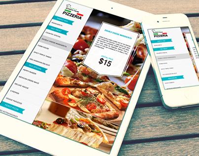 Restaurant Menu App..