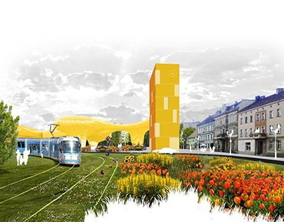 1st prize, Competition for new masterplan for Leśnica