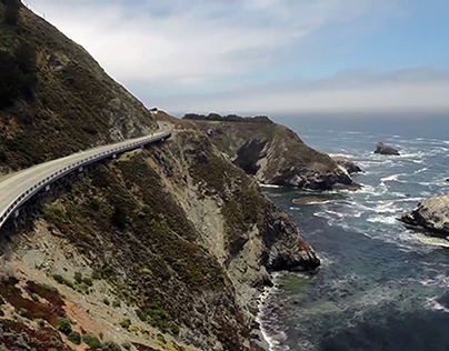 Big Sur Aerial Cinema