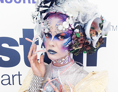Olympia Beauty 2014 Art of Makeup competition