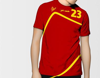 Official Spanish handball team