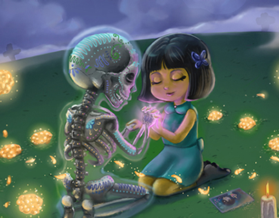 """Day of the Dead """"Lovesong"""""""