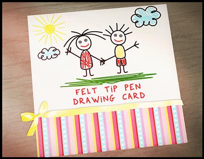 Felt Tip Pen Drawing