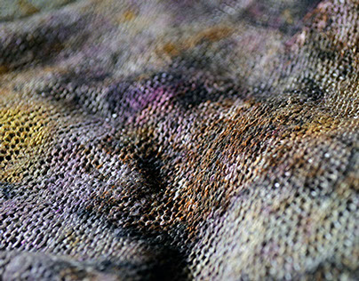 Naturally Dyed Fabric Yardage