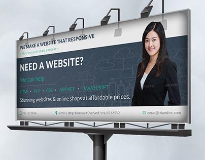 Triund Web Business Billboard