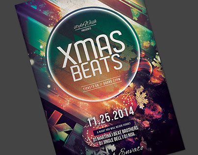 Xmas Beats Flyer Template