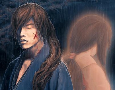 You made the bloody rain fall
