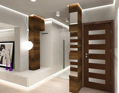 hol in flat/ korytarz w mieszkaniu