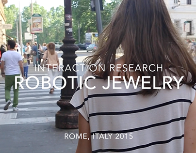 Interaction Research: Robotic Jewelry