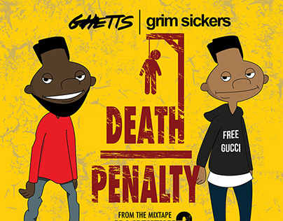 Ghetts feat. Grim Sickers - Death Penalty Artwork