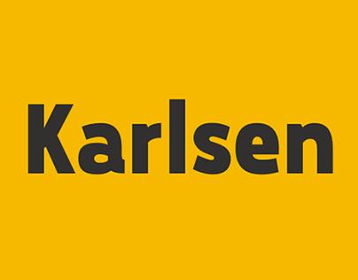 Karlsen Font Family