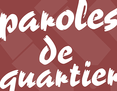 Paroles de Quartier