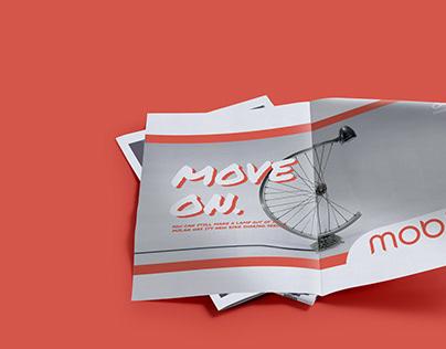 Mobike - Subway Print Campaign
