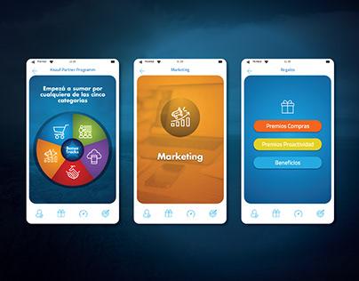 APP Partner Programm | UX/UI Design