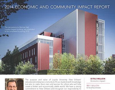Loyola University Economic Impact Report 2014
