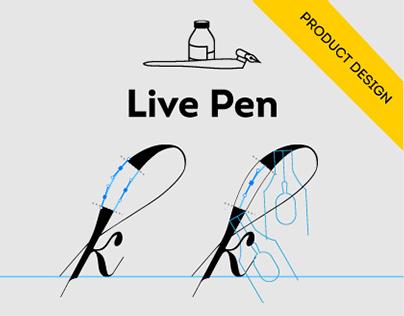 Live Pen, calligraphic Adobe Illustrator Plug-in