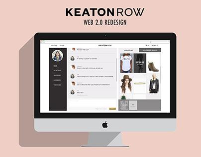 Keaton Row Web 2.0 Redesign
