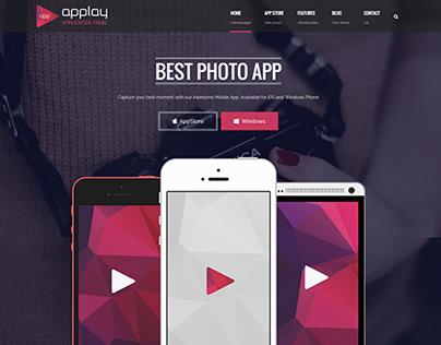 Applay - Mobile App Showcase Theme