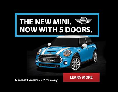 Mini Cooper Mobile Ads