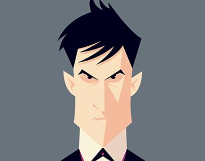 Gotham - Penguin Vector