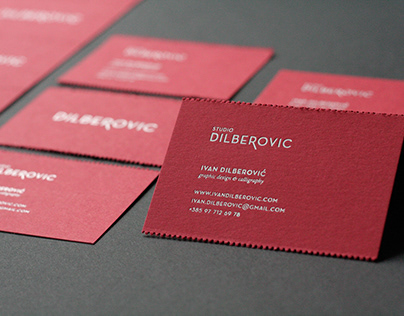 Self service business card