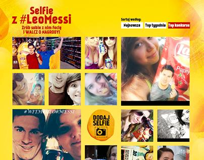 Selfie z #LeoMessi