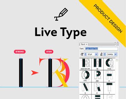 Live Type, typographic Adobe Illustrator Plug-in