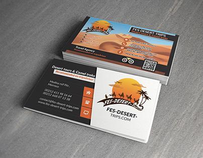 Carte Visite Agence De Voyage Fes Desert Trips
