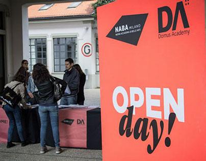 NABA Open Day / identity and signage