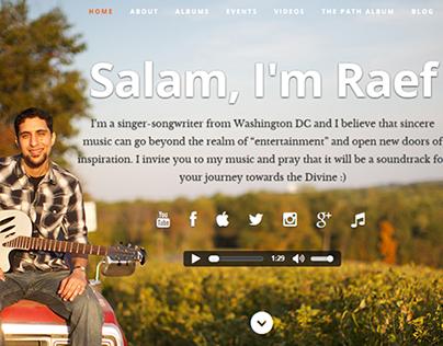 Raef (American Singer) | Online Presence Creation
