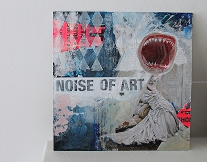 Mixed Media Collage     NOISE OF ART