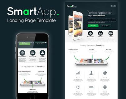 SmartApp - Landing Page Template